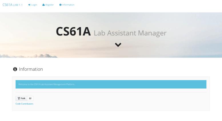 Access la cs61a org  CS61A - Check In