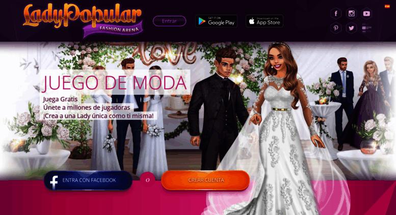 Access Ladypopulares Lady Popular El Mejor Juego De Moda