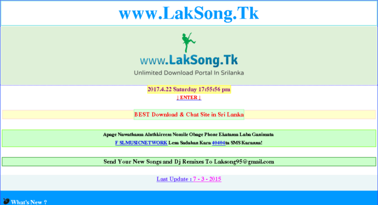 Access laksong tk  www LakSong Tk Mobile ::: MP3's | Video's