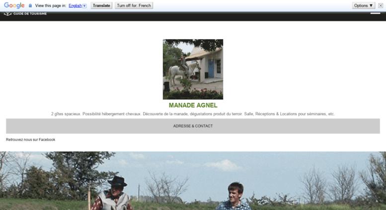 Access lamusette.camargue.fr. Manade AGNEL - Mas les Hourtès, gîtes ... 6d541c4ef53