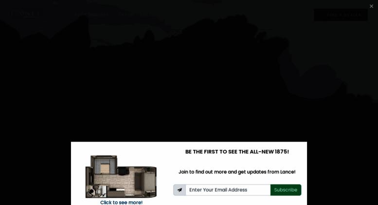 Access lancecamper com  Lance Camper   Truck Campers, Travel