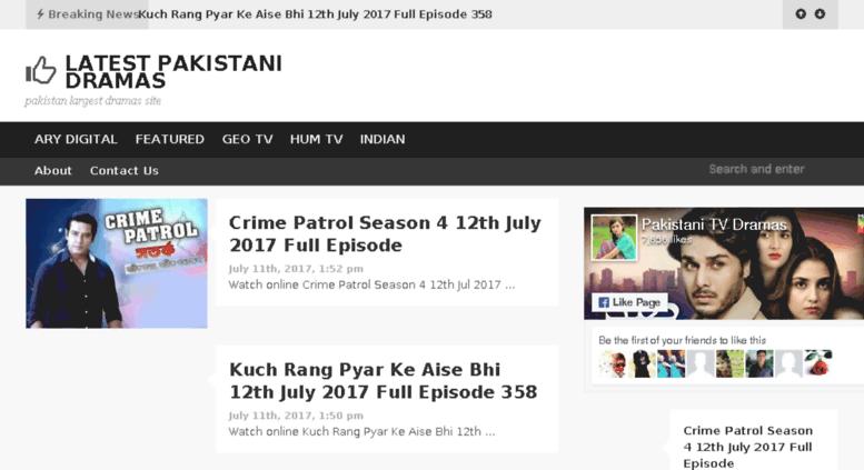 Access latestpakidramas com  Latest Pakistani Dramas - pakistan