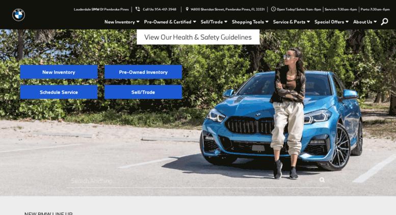 Lauderdale BMW Of Pembroke Pines >> Access Lauderdalebmwofpembroke Com New Bmw Used Car
