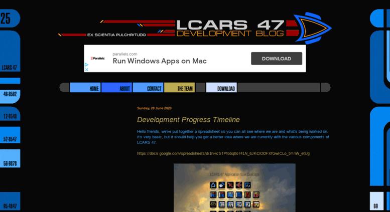 Access lcars47 com  LCARS 47