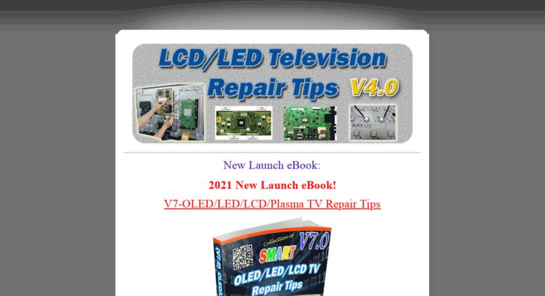 Lcd Tv Repair Ebook