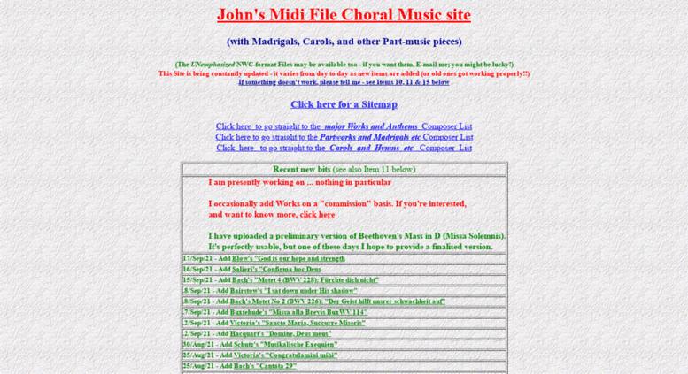 Old Midi Music