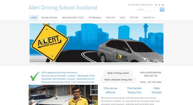 drivers licence test nz online