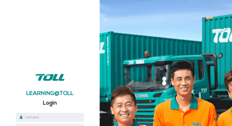toll collect login