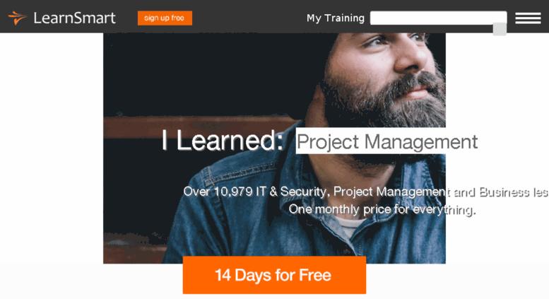 Access learnsmartnow com  Project Management, IT & Security