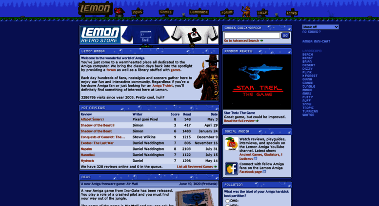 Access lemonamiga com  Lemon Amiga - Games, Download, Emulator