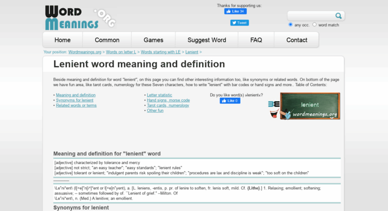 Access lenient wordmeanings org  Lenient word meaning and