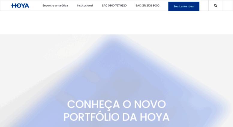 773df0c30 Access lentes-hoya.com.br. Lentes de óculos   HOYA