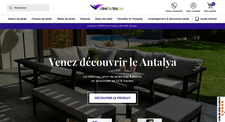 Access lerevechezvous.com. Le Rêve Chez Vous: Salon de ...