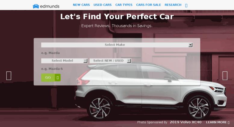 Lexus Edmunds Screenshot