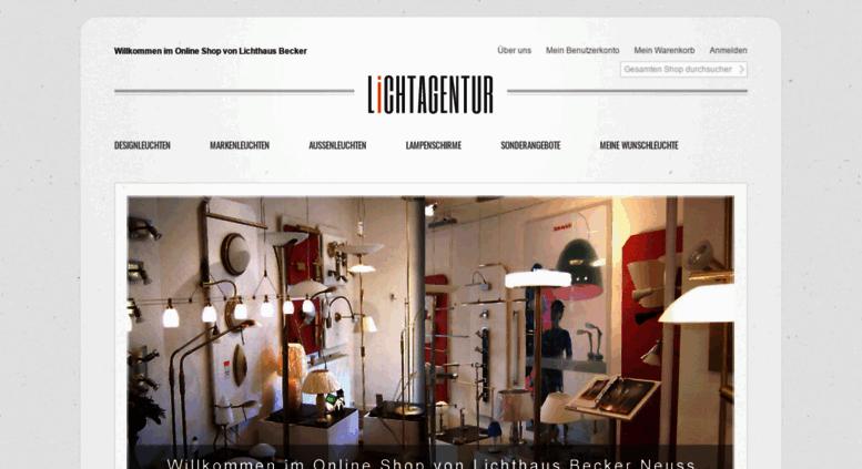 Access Lichthaus Becker De Lichtagentur Der Online Shop Vom