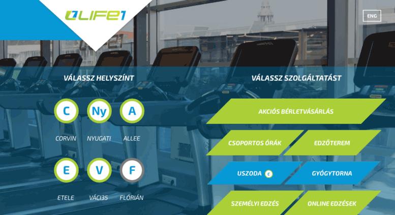 Access life1.hu. Life1 Fitness Budapest  e6d18fb7b7
