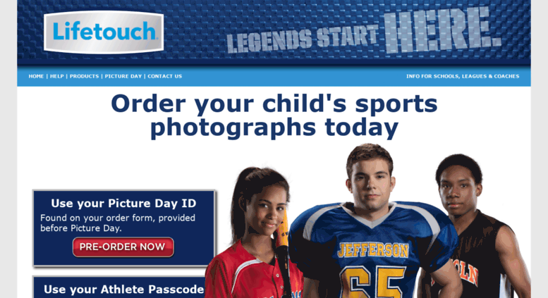 Access Lifetouchsports Com Lifetouch Sports Photography Order