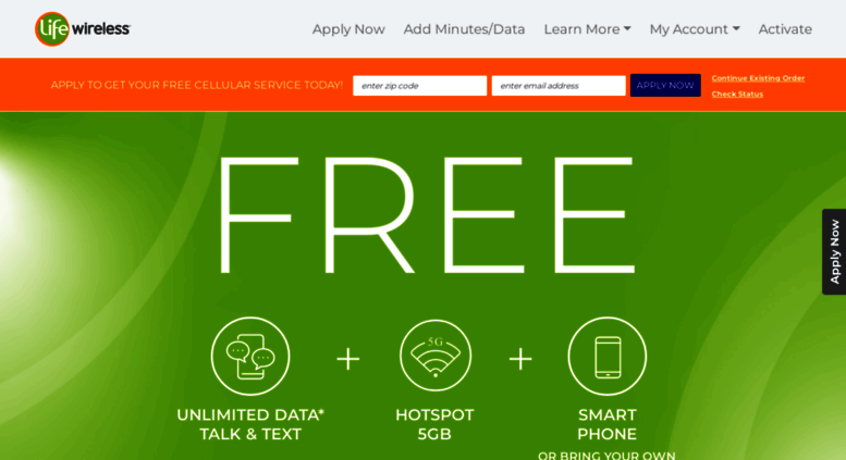 Access lifewireless com  Apply Now Free Government Cell Phone