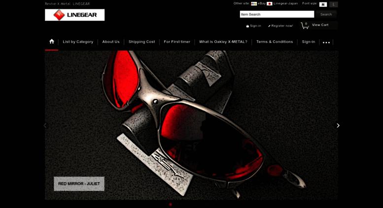 426bd80a716 Access linegear-japan.com. Replacement lenses