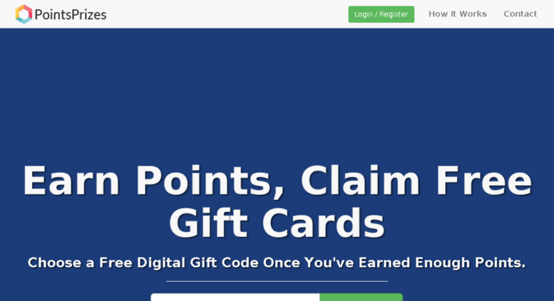 Access linkarus com  PointsPrizes com - Earn Points, Claim Free Gift