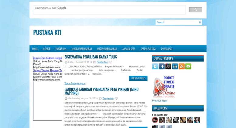 Access Literaturkti Blogspot Com Pustaka Kti