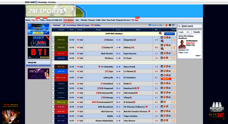 Cn 7m sport betting can you place a bet on anything