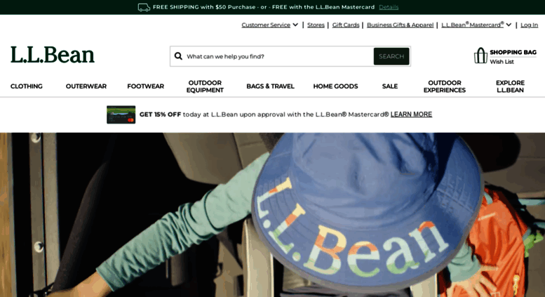 154a0d39954a Access llbean.com. L.L.Bean - The Outside Is Inside Everything We Make