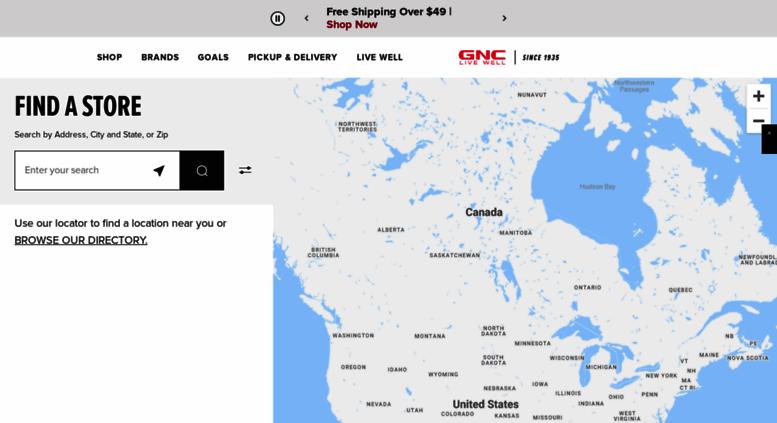 Access local gnc com  GNC Locations | Find Vitamin