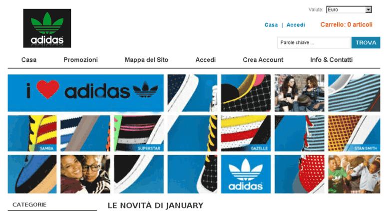 adidas italia contatti marketing