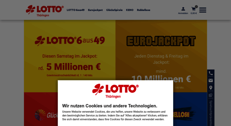 Lotto Thüringen.De