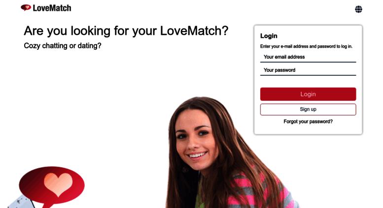 Access lovematch nu  LoveMatch