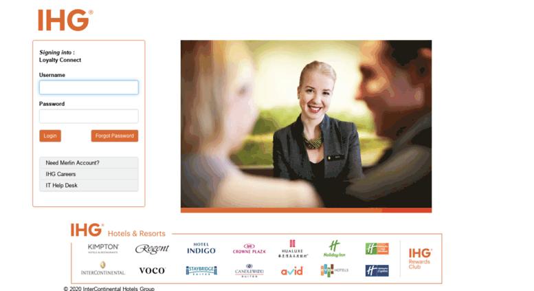 Access loyaltyconnect ihg com