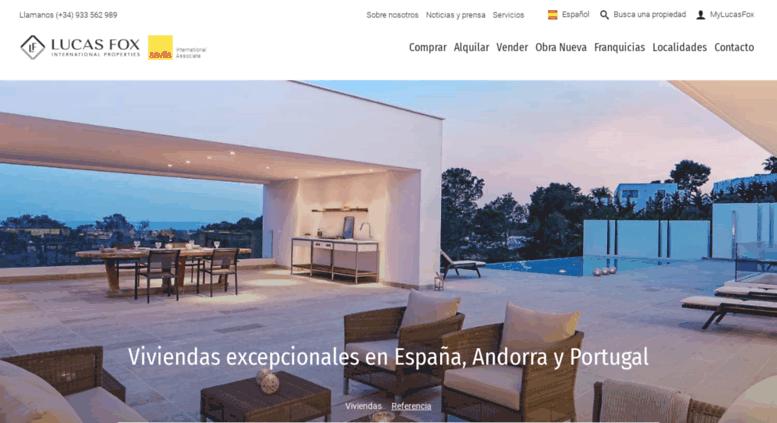 cbf7cdbec Access lucasfox.es. Casas y pisos de lujo en venta en España ...