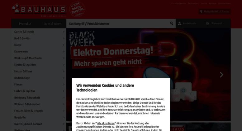Access Mbauhausinfo Bauhaus Online In Ihrer Nähe Mehr Als Ein