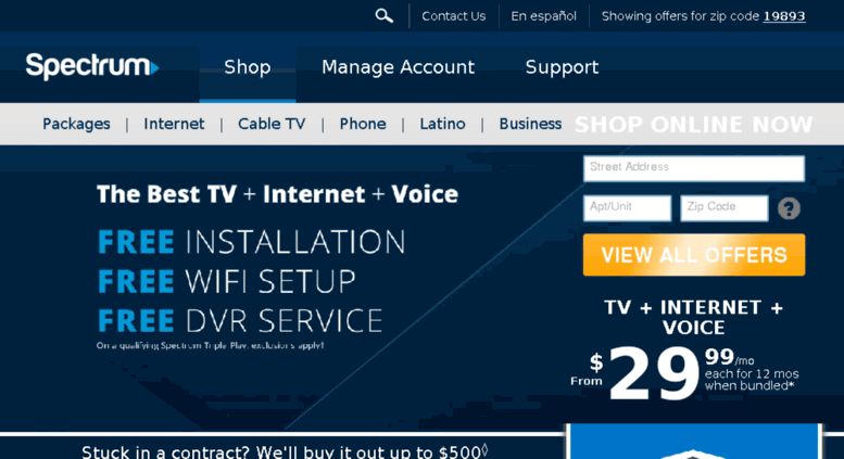 Charter Phone Service >> Access M Charter Com Spectrum Official Internet Cable