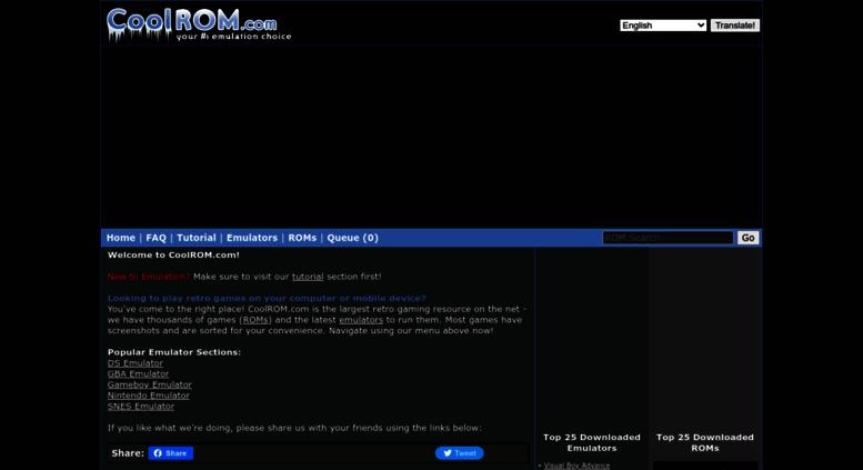 Access M Coolrom Com Au Coolrom Com Play Retro Games On Your