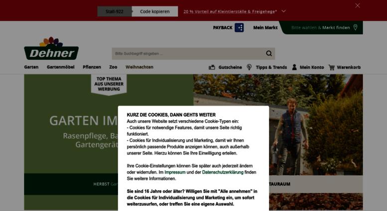 Access Mdehnerde Dehner Ihr Online Shop Für Garten Pflanzen