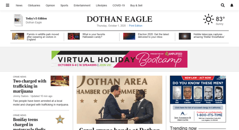 Access m dothaneagle com  Dothan Eagle: Real People  Real News