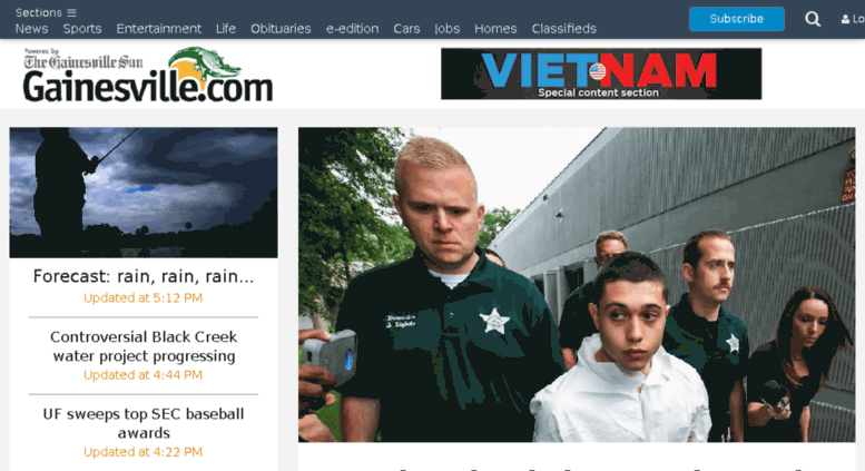 Access m gainesville com  : Local & World News, Sports