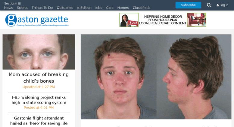 Access m gastongazette com  Gaston Gazette: Local News