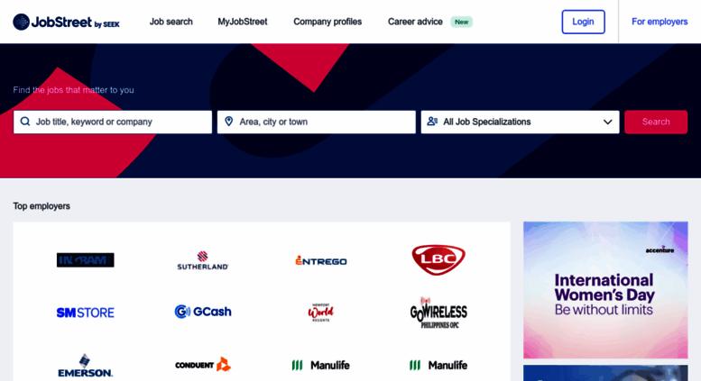 access m jobstreet com ph jobs in philippines job search job