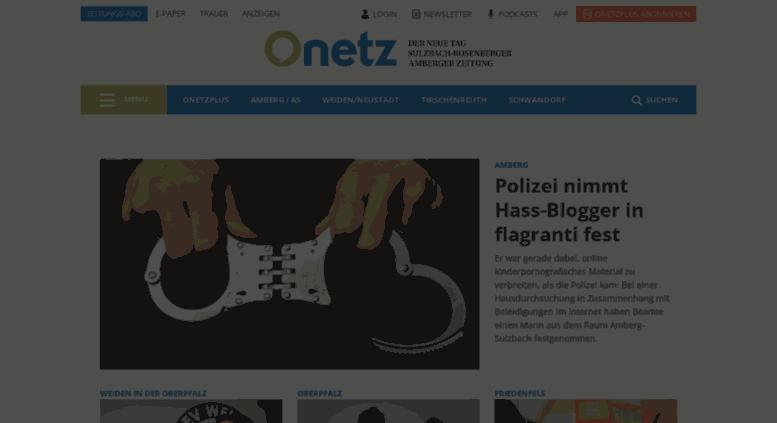 Nachrichten Oberpfalznetz