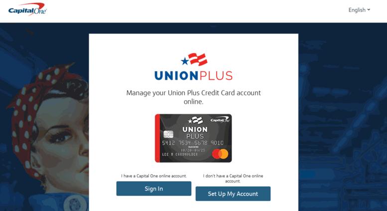 Access m unionpluscard com  Union Plus Credit Card
