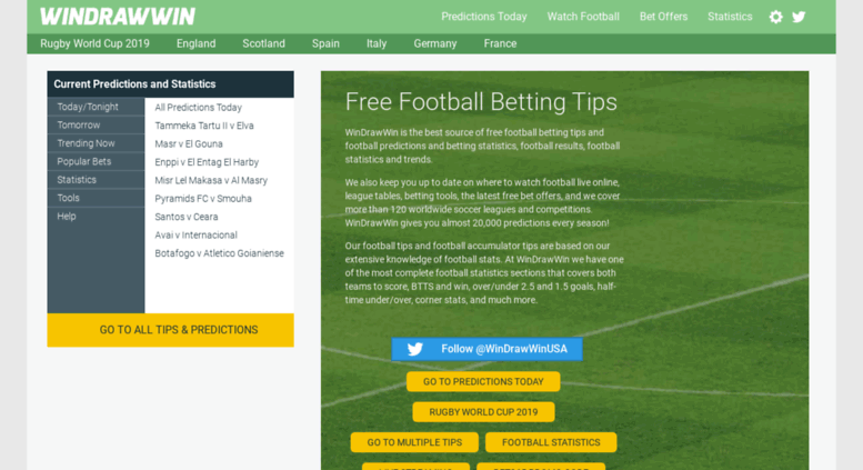 Access m windrawwin com  Free Football and Soccer Tips and