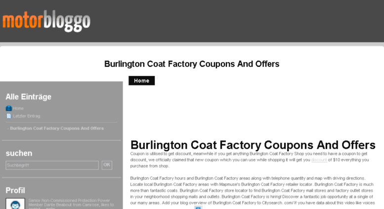 fe67e0fd98d Access m38d.motorbloggo.de. Burlington Coat Factory Coupons And ...