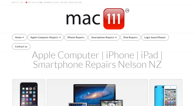 Access mac111 nz  iPad | iPhone | Smartphone | Apple