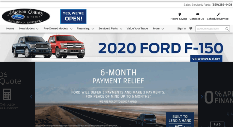 Car Dealerships In Richmond Ky >> Access Madisoncountyford Com Madison County Ford Lincoln Is