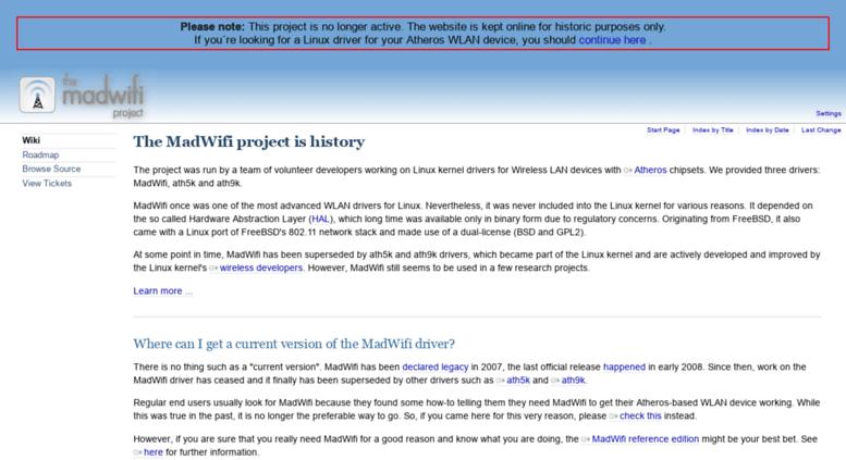 MADWIFI ATHEROS WIRELESS 64BIT DRIVER