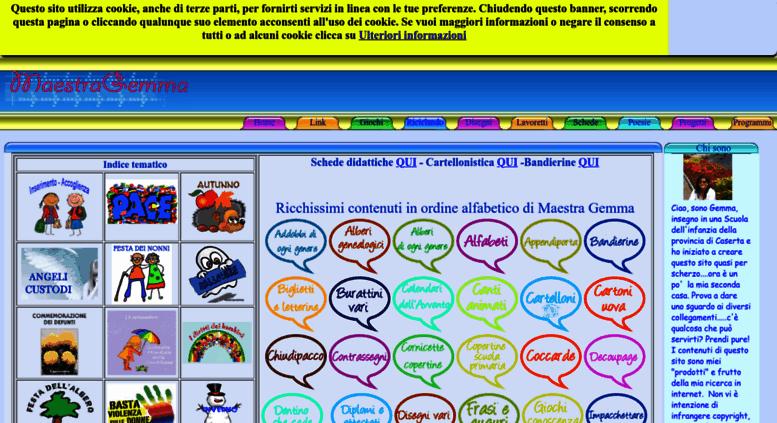 Access Maestragemma Com Maestra Gemma Scuola Dell
