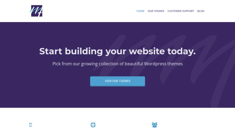 Access mage-themes com  Premium WordPress Themes - Mage Themes